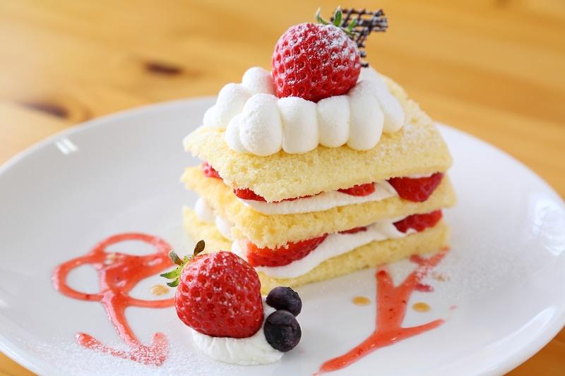 瀬戸内 フルーツ ガーデン さんカフェ ケーキ